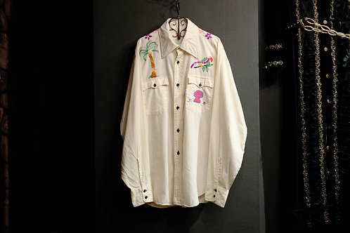 1970's Vintage Embroidery Shirt