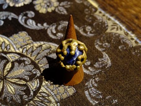 Vintage Brass Art Ring