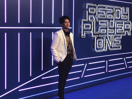 森崎ウィンさんご着用 /映画『Ready Player One』Film Premiere LONDON
