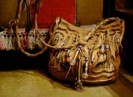 Handmade Native American Leather Bag