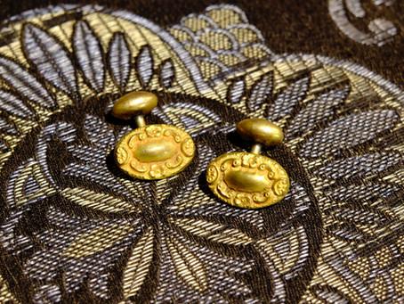 1880-1900s Victorian Antique Cufflinks