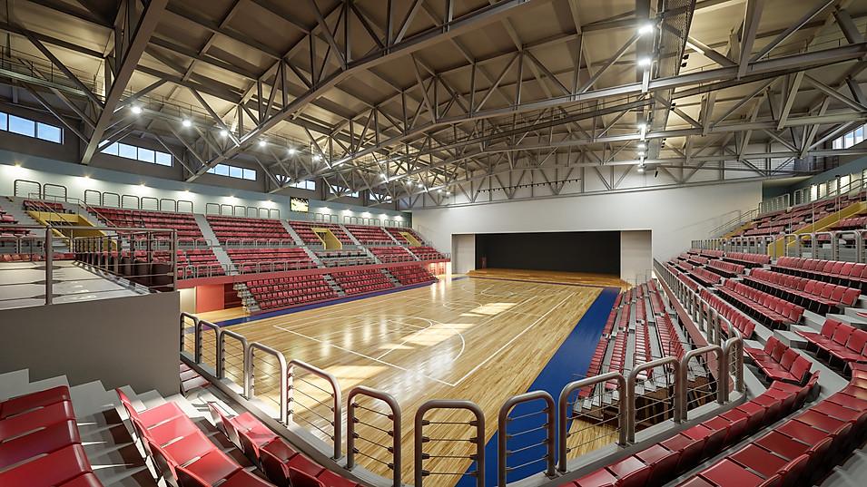Gym Basketball Court