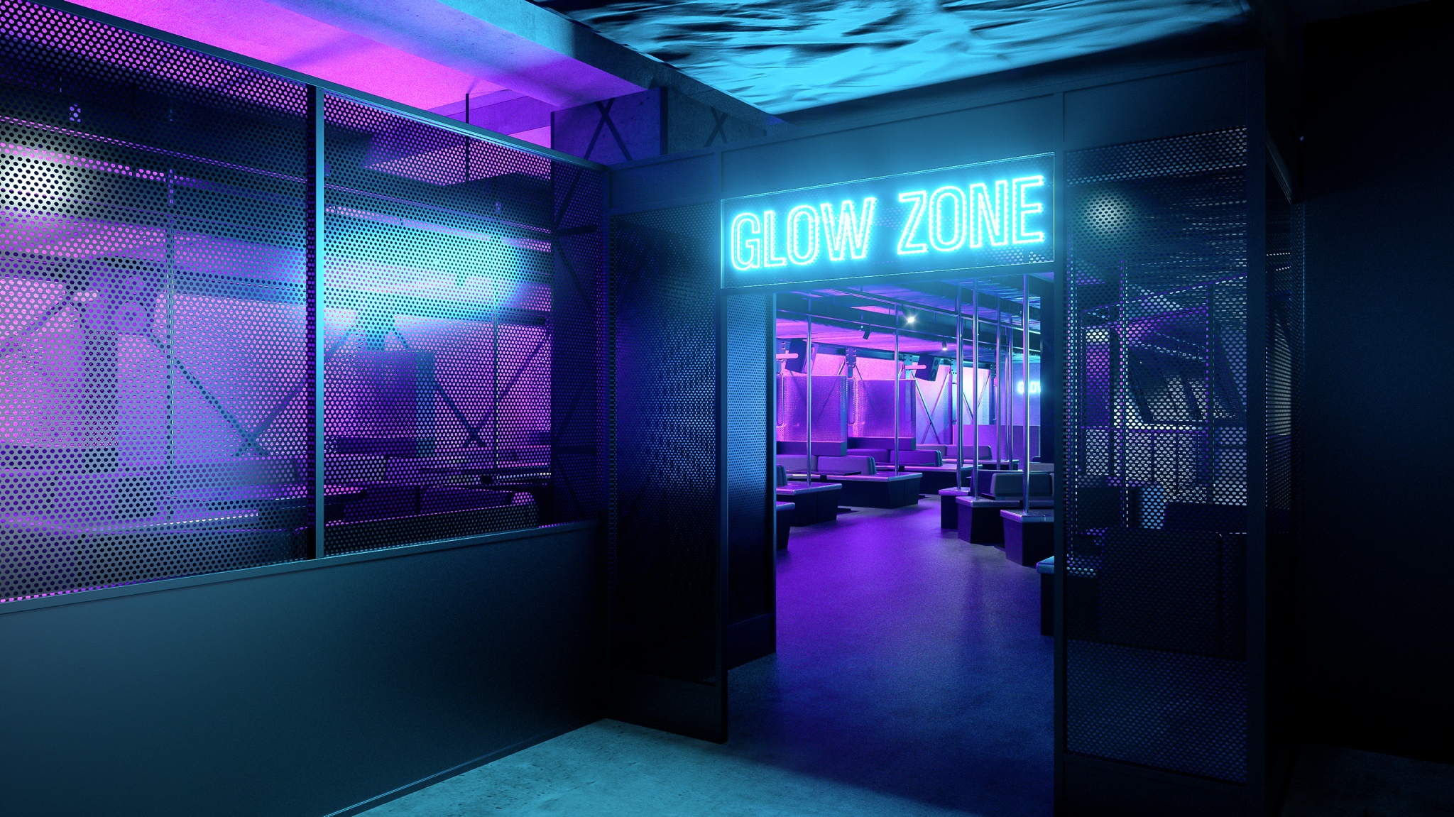 Glow zone - Club Octagon