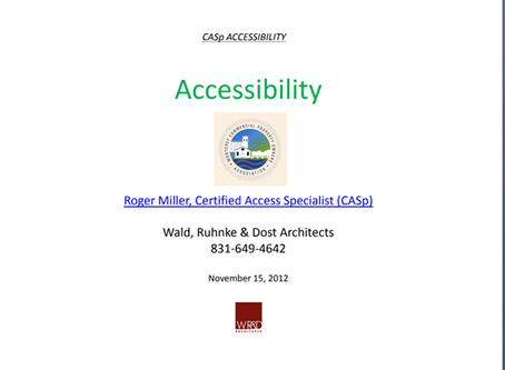 CASP Accessibility Presentation