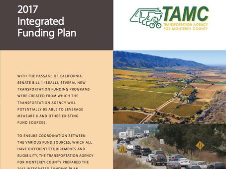 TAMC Integrated Funding Plan
