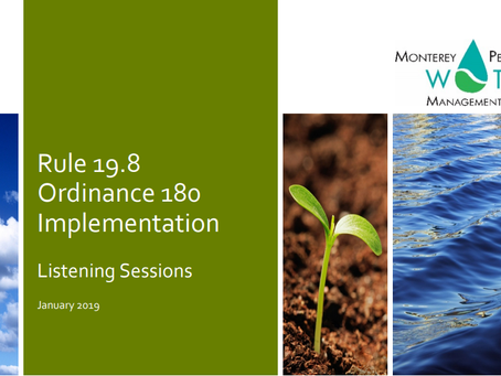 MPWMD Rule 19.8 Implementation Listening Session