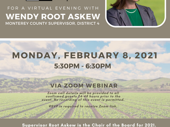 Join us for an evening with Supervisor Wendy Root Askew