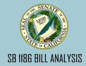 SB 1186 Bill Analysis