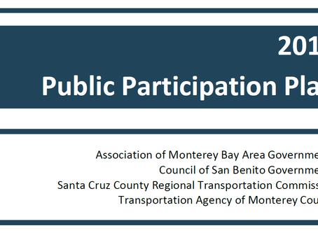 TAMC Public Participation Plan 2019