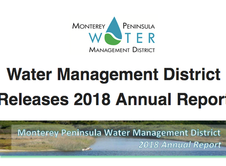 Water Management District 2018 Annual Report