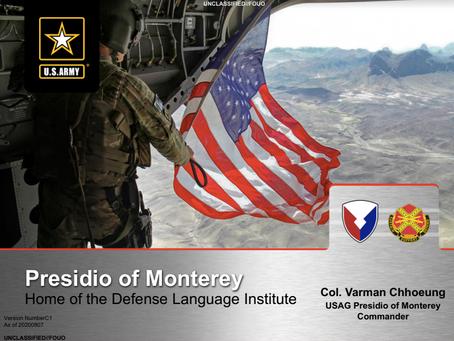 Presidio of Monterey Presentation