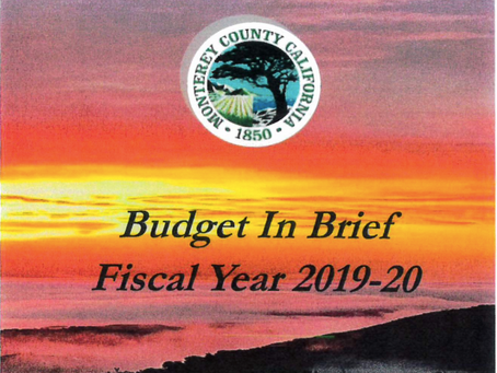County of Monterey Budget-in-Brief