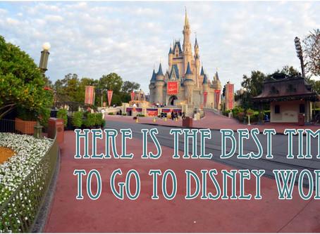 7 Least Crowded Times to Visit Walt Disney World