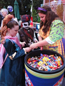 Trick-or-Treat Throughout the Park