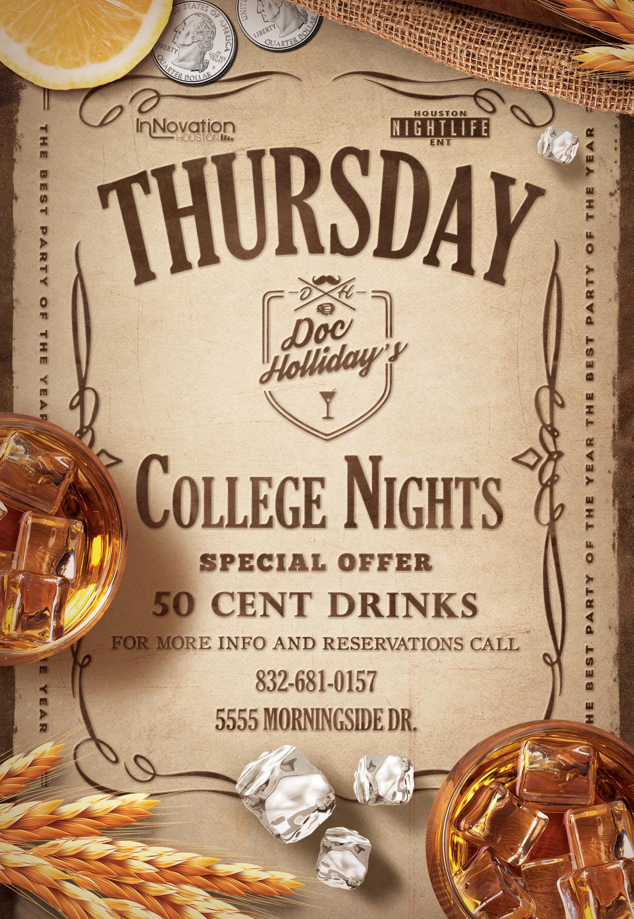 College Nights Tall