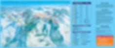 Plan des piste de la station de ski de fond du Chioula