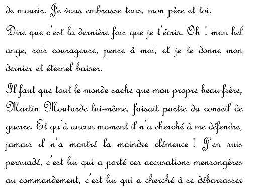 Cluedo 2018 - Extrait de lettre de Louis