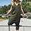 Thumbnail: Grey and Creme Striped Romper