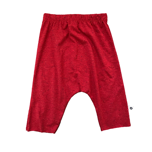 Red Speck Drop Shorts