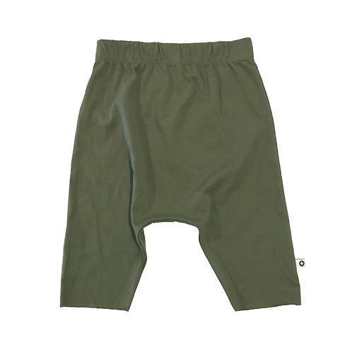 Army Green Drop Shorts