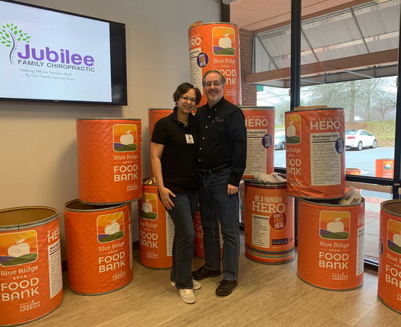 Jubilee Family Chiropractic 2020 Blue Ridge Food Drive. 016