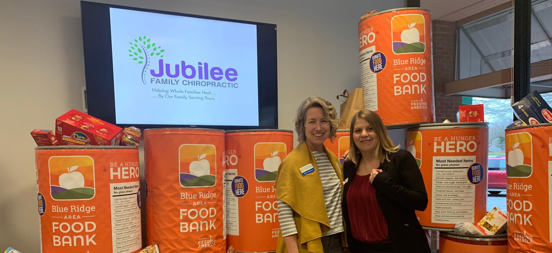 Jubilee Family Chiropractic 2020 Blue Ridge Food Drive. 033
