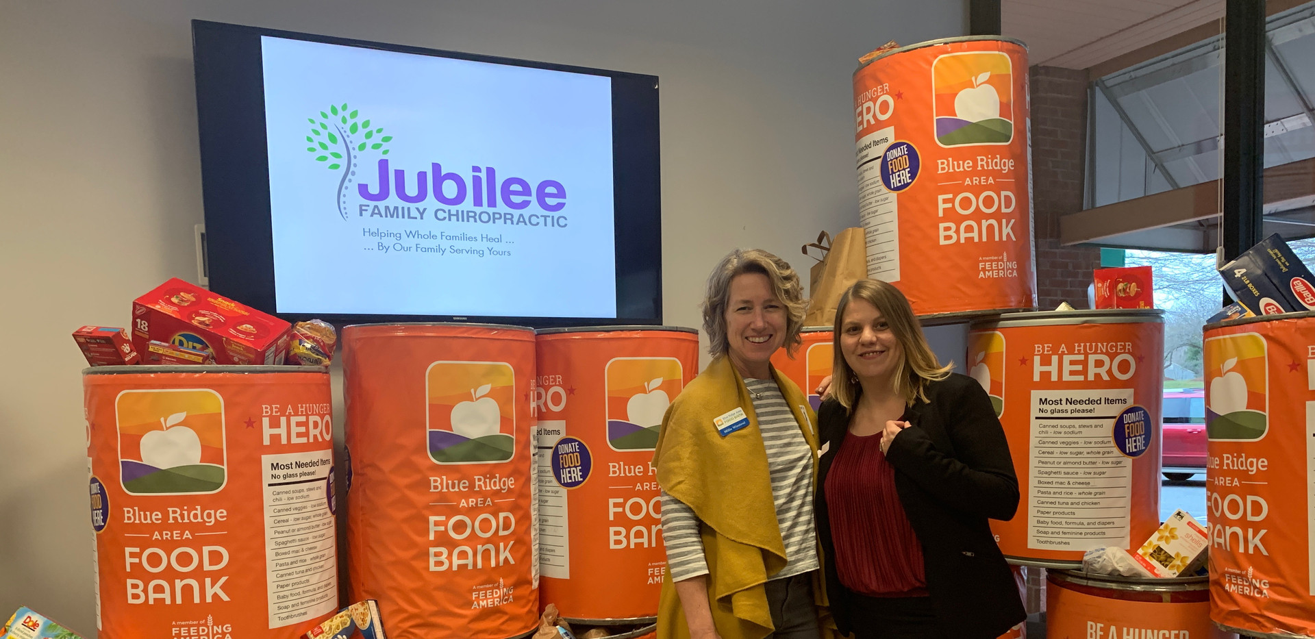 Jubilee Family Chiropractic 2020 Blue Ridge Food Drive. 033