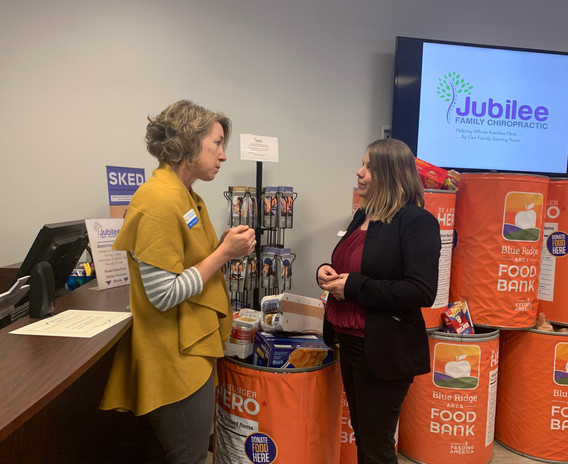 Jubilee Family Chiropractic 2020 Blue Ridge Food Drive. 032