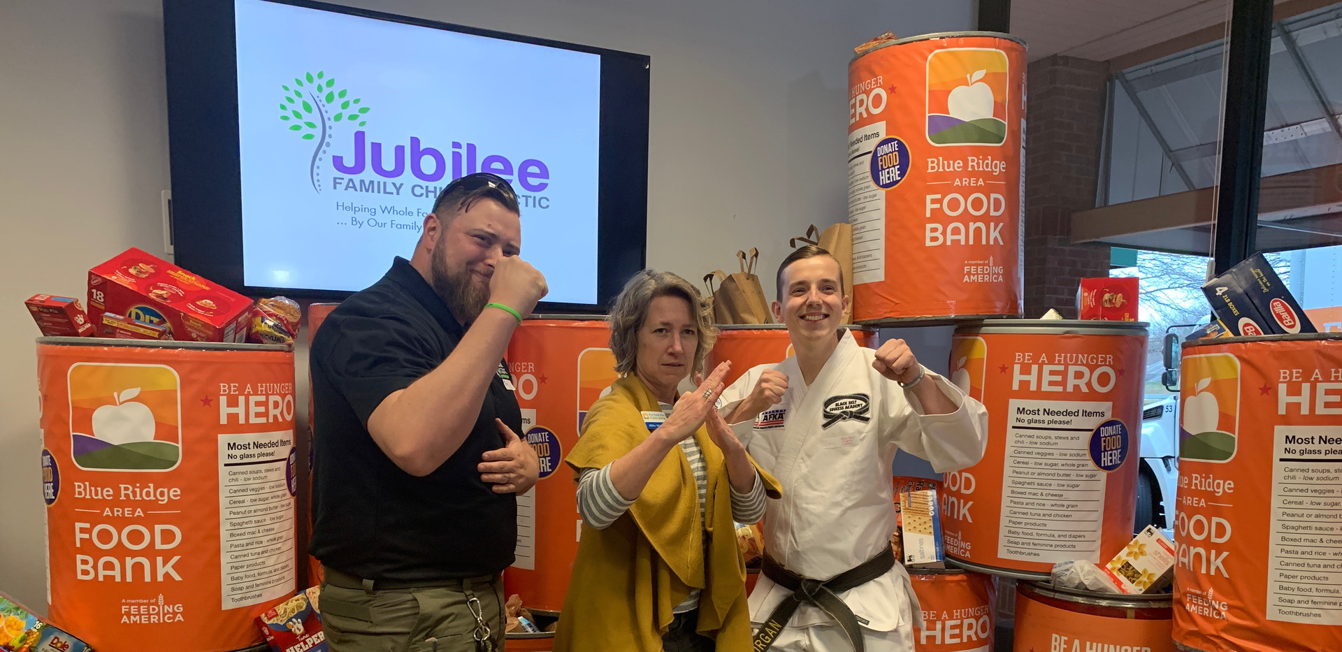 Jubilee Family Chiropractic 2020 Blue Ridge Food Drive. 038