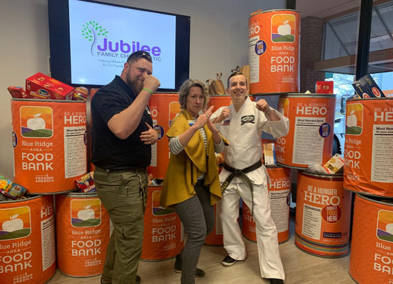 Jubilee Family Chiropractic 2020 Blue Ridge Food Drive. 038