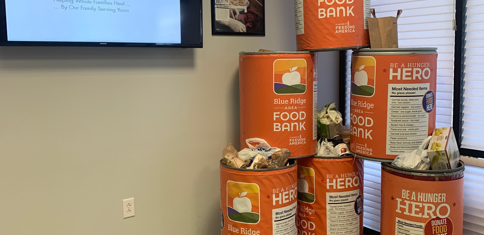 Jubilee Family Chiropractic 2020 Blue Ridge Food Drive. 008
