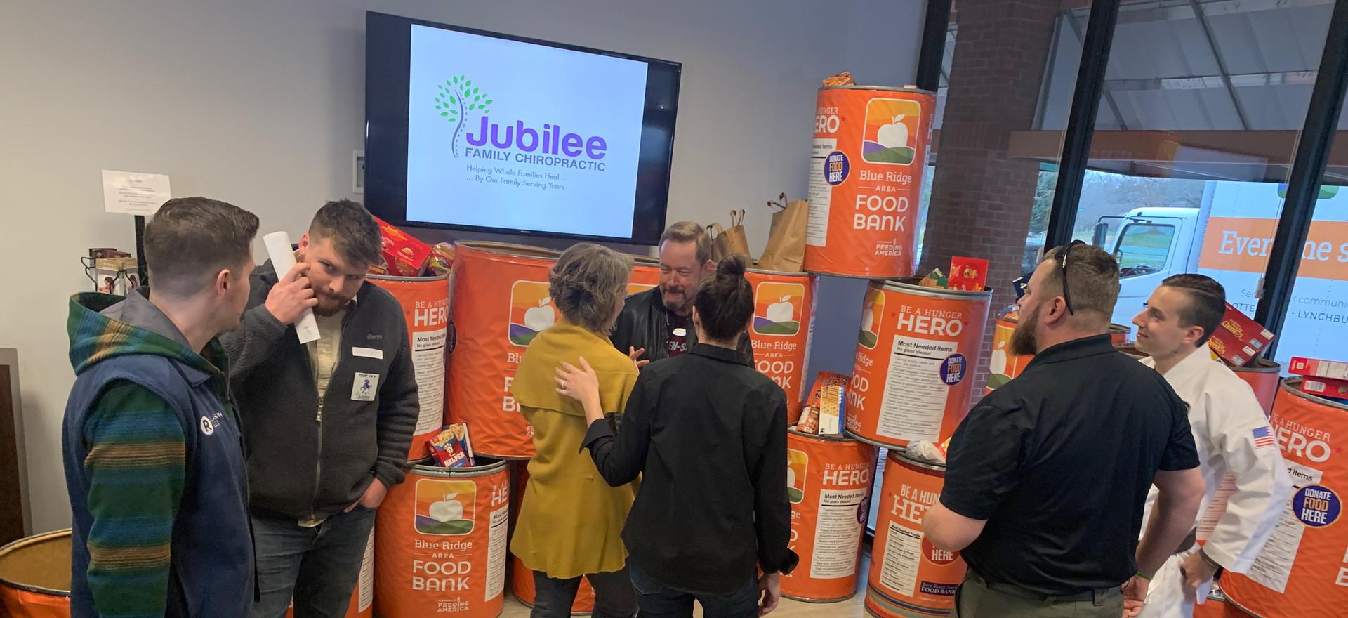 Jubilee Family Chiropractic 2020 Blue Ridge Food Drive. 035