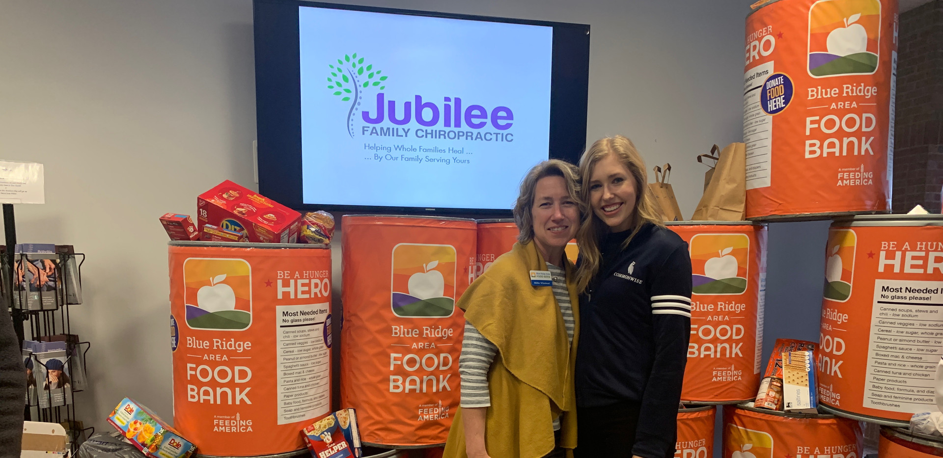 Jubilee Family Chiropractic 2020 Blue Ridge Food Drive. 040