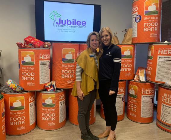 Jubilee Family Chiropractic 2020 Blue Ridge Food Drive. 040
