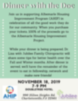 Join us in supporting Albemarle Housing