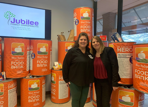 Jubilee Family Chiropractic 2020 Blue Ridge Food Drive. 034