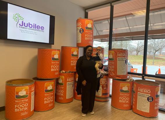 Jubilee Family Chiropractic 2020 Blue Ridge Food Drive. 009