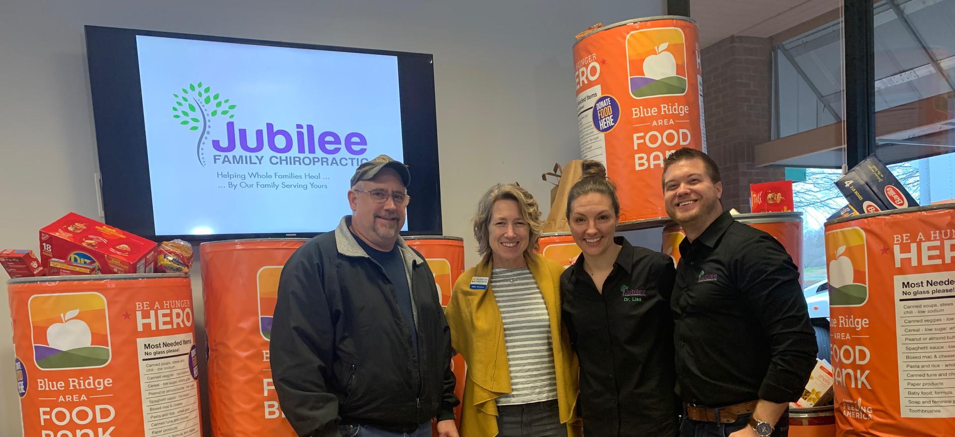 Jubilee Family Chiropractic 2020 Blue Ridge Food Drive. 045