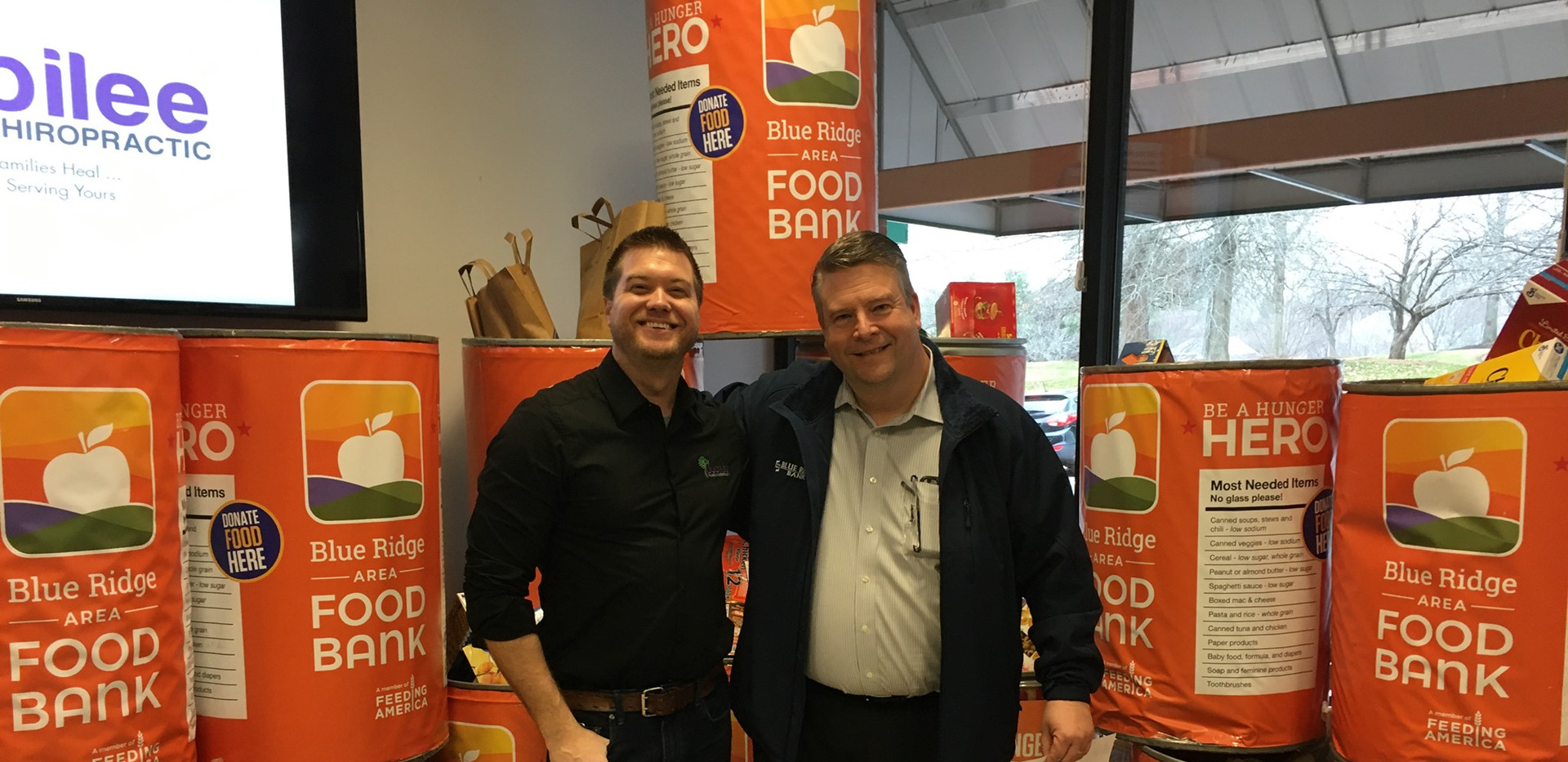 Jubilee Family Chiropractic 2020 Blue Ridge Food Drive. 021