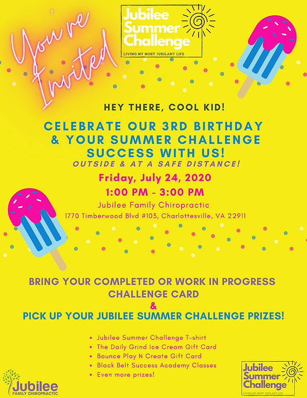 Jubilee Summer Challenge Party Prize Fly