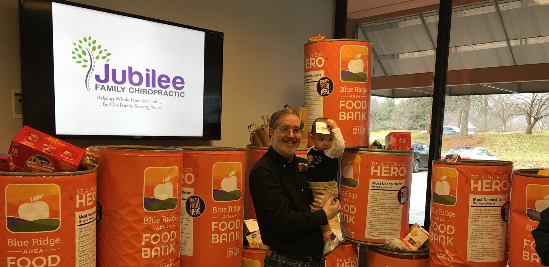 Jubilee Family Chiropractic 2020 Blue Ridge Food Drive. 014