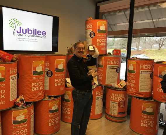 Jubilee Family Chiropractic 2020 Blue Ridge Food Drive. 014