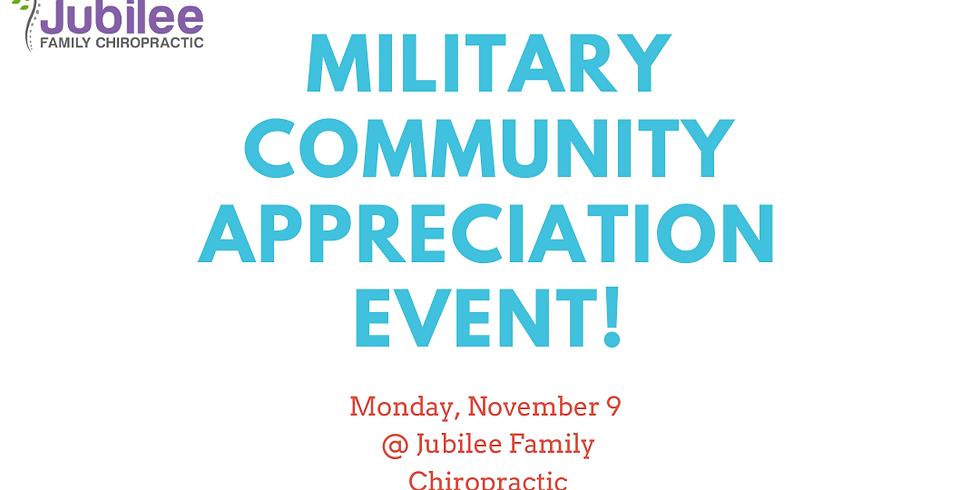 Military Community Appreciation