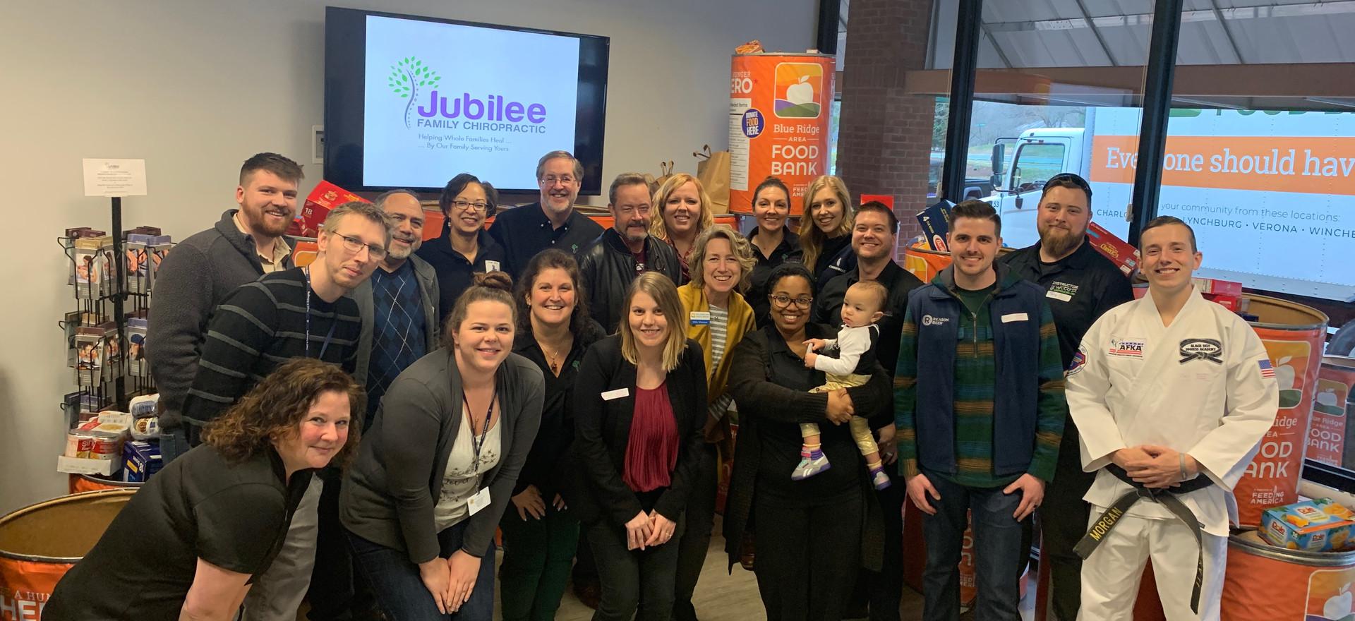Blue Ridge Food Drive 2020 JFC