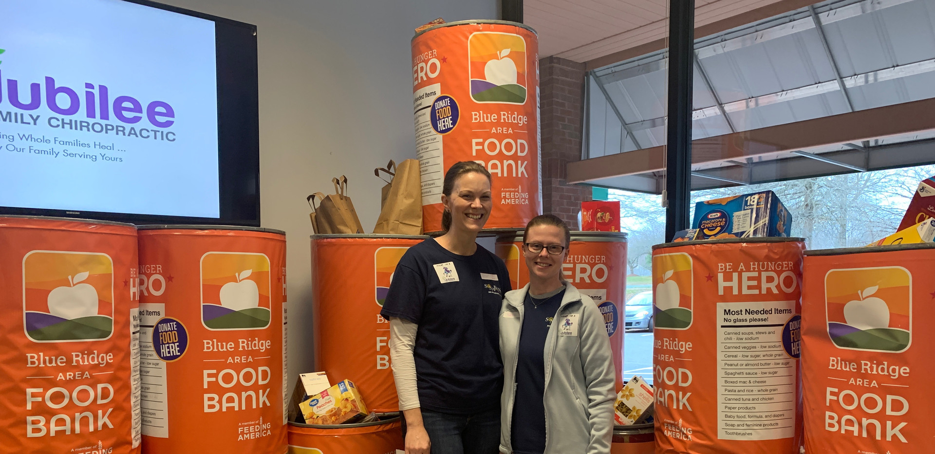 Jubilee Family Chiropractic 2020 Blue Ridge Food Drive. 024