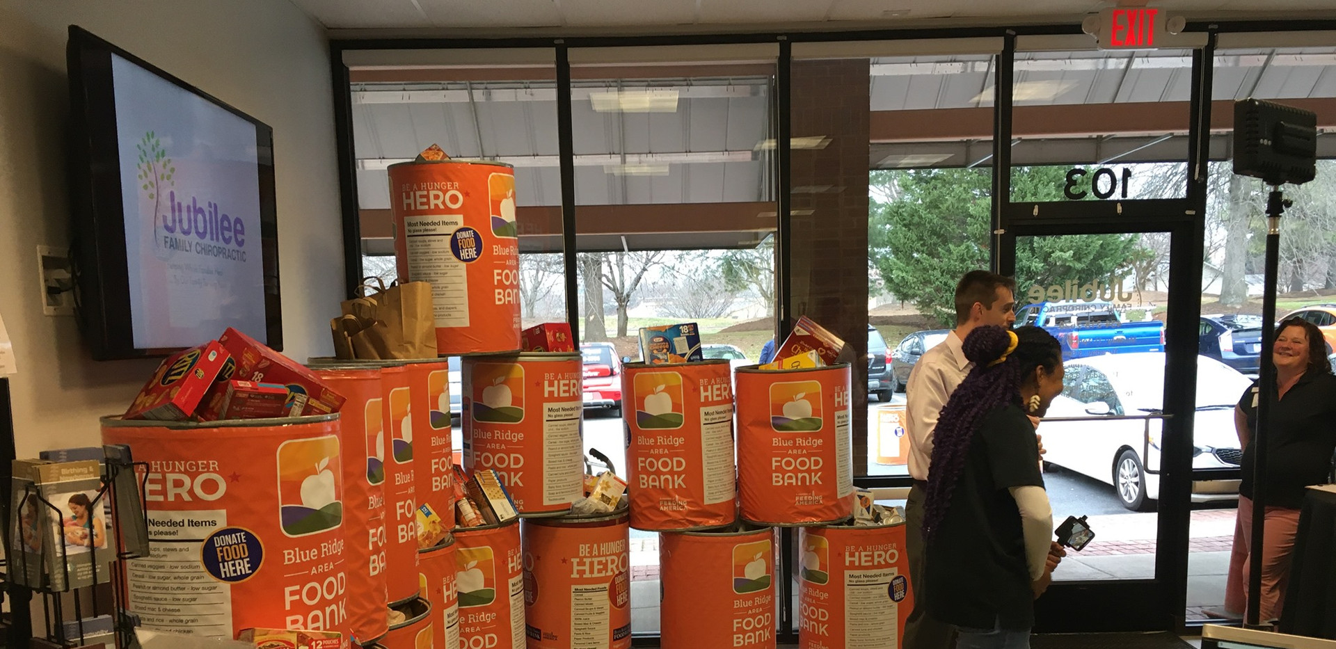 Jubilee Family Chiropractic 2020 Blue Ridge Food Drive. 047