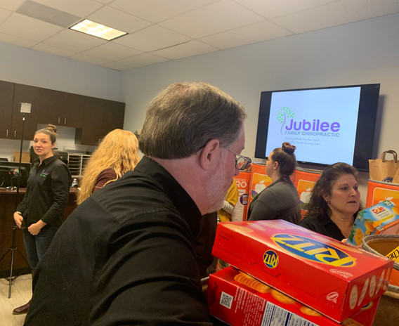 Jubilee Family Chiropractic 2020 Blue Ridge Food Drive. 030