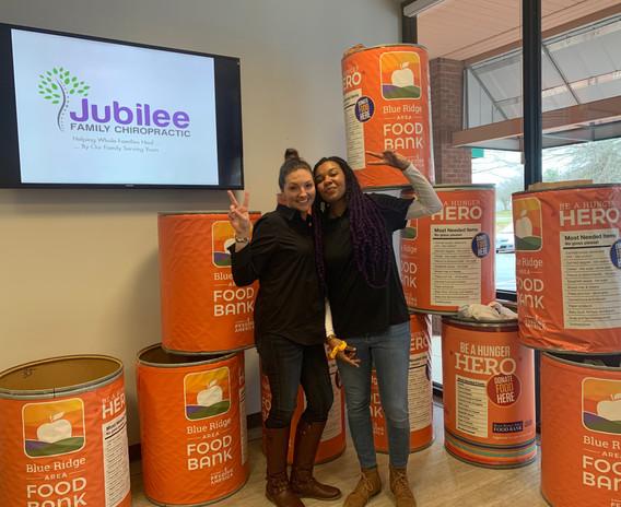 Jubilee Family Chiropractic 2020 Blue Ridge Food Drive. 015