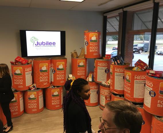 Jubilee Family Chiropractic 2020 Blue Ridge Food Drive. 048