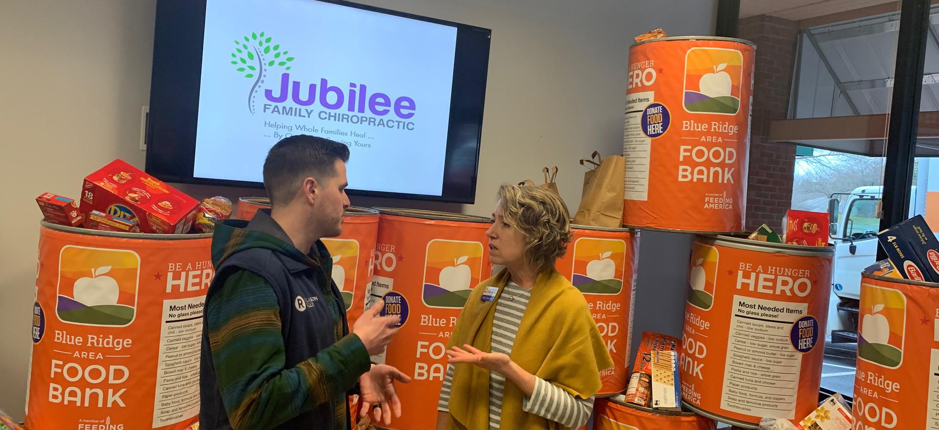 Jubilee Family Chiropractic 2020 Blue Ridge Food Drive. 044